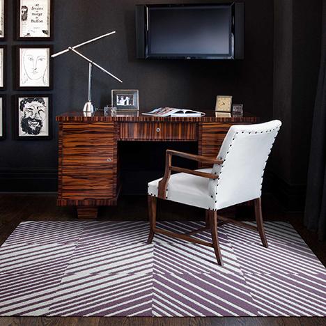 Flor in hospitality spaces carpet design squares for Design positive tile